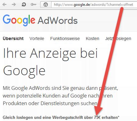 378e3089de7780 AdWords FAQ  Wie Google AdWords Gutschein einlösen